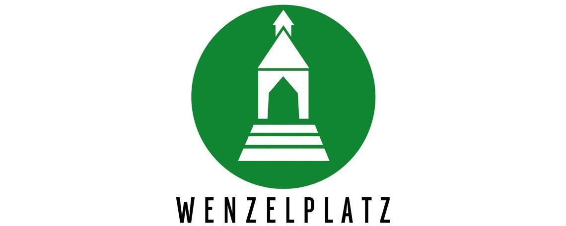 Logo eines der Quartiere im Rheinquartier: Wenzelplatz
